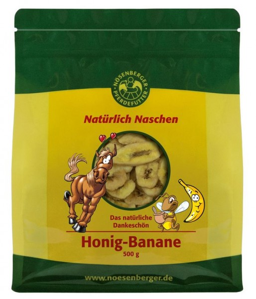 Nösenberger Natürlich Naschen Honig-Banane 500g