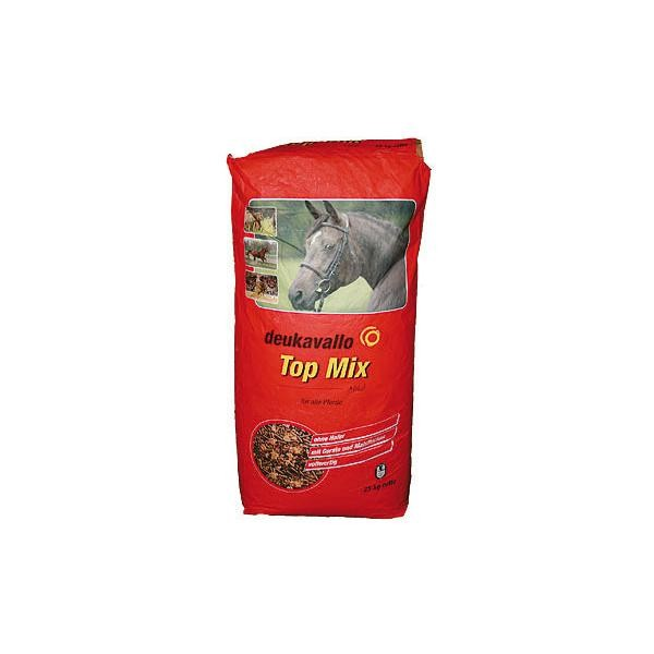 Deukavallo Top Mix- Hochwertiges Basisfutter für Pferde 25kg