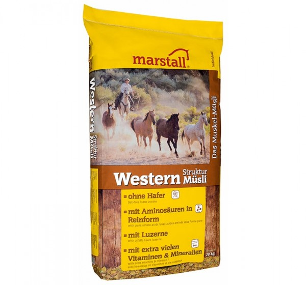 marstall Individual-Linie Western Struktur-Müsli 20kg