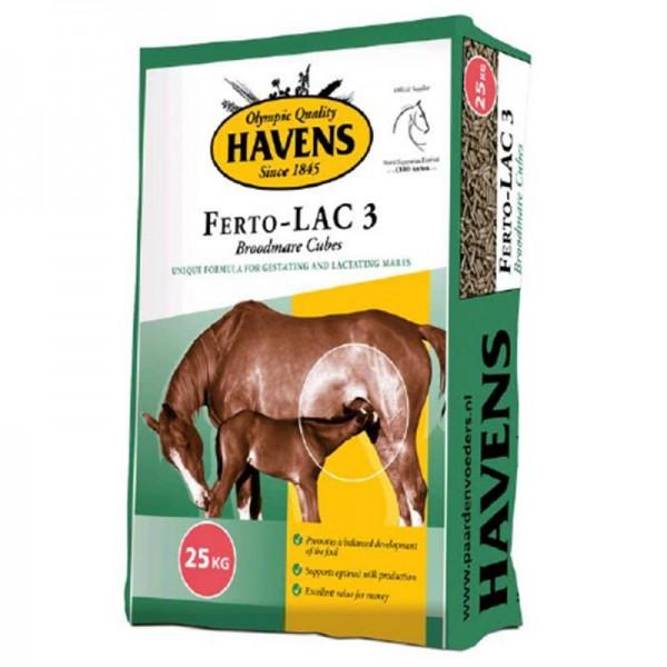 Havens Ferto-Lac 3 25 kg - Spezialfutter für Zuchtstuten