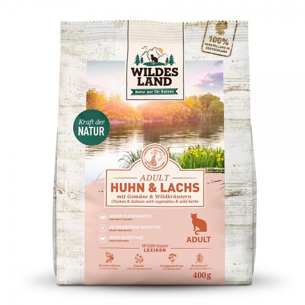 Wildes Land Classic Adult Huhn und Lachs mit Gartengemüse