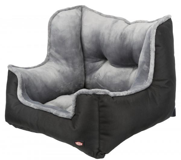 Auto-Sitz, 50×40×50 cm, schwarz/grau