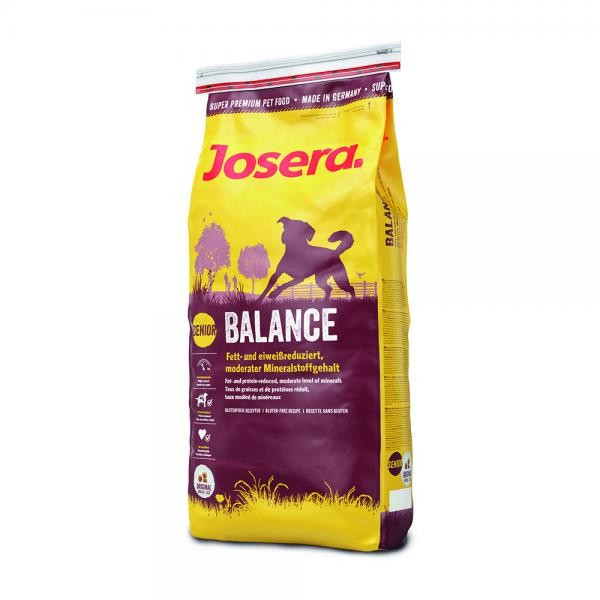 Josera Hund Balance - das Hundefutter für ältere oder ruhigere Hunde