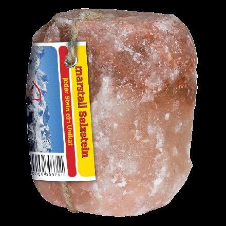 marstall Kristallsalz Leckstein 2-3kg - naturbelassene Natriumquelle für Pferde