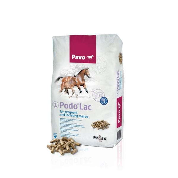 Pavo Podo Lac - Zuchtfutter Stutenbrocken 20kg