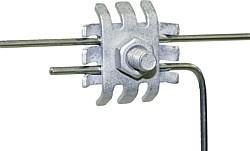 Drahtverbindungsklemme, verzinkt (5 Stück/Pack)