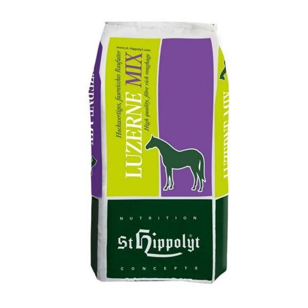 St. Hippolyt Glyx-Wiese Luzerne Mix - energiereiches Raufutter für Sport und Zucht 18kg