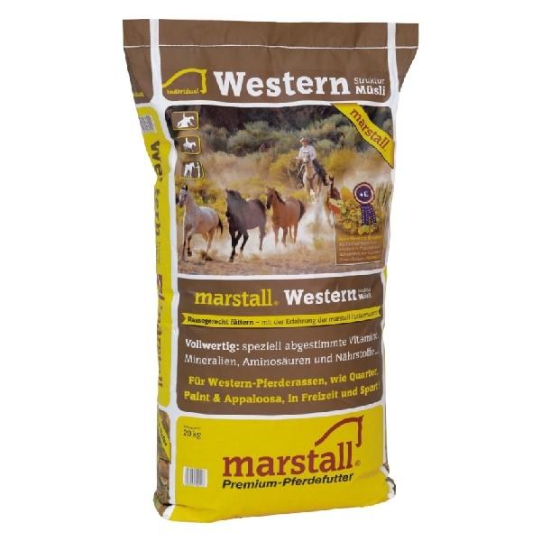 marstall Individual-Linie Western Struktur-Müsli 20kg Sack