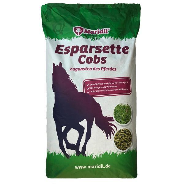 Maridil Esparsette-Cobs- nahrhaftes, leckeres und leicht verdauliches Pferdefutter 14kg