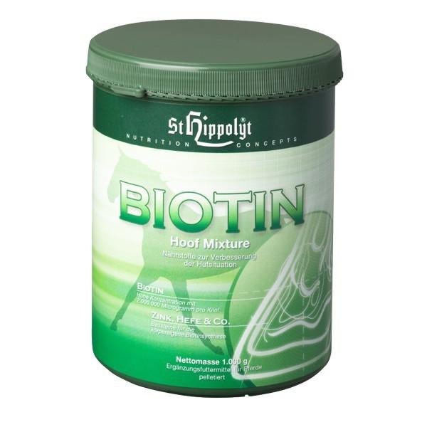 St. Hippolyt Biotin Hoof Mixture- Bewährtes Ergänzungsfutter für Haut und Huf