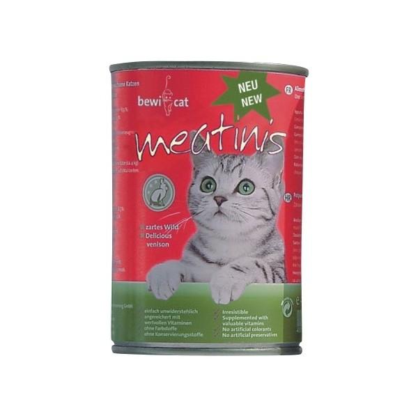 Bewi Cat Meatinis Wild 400g