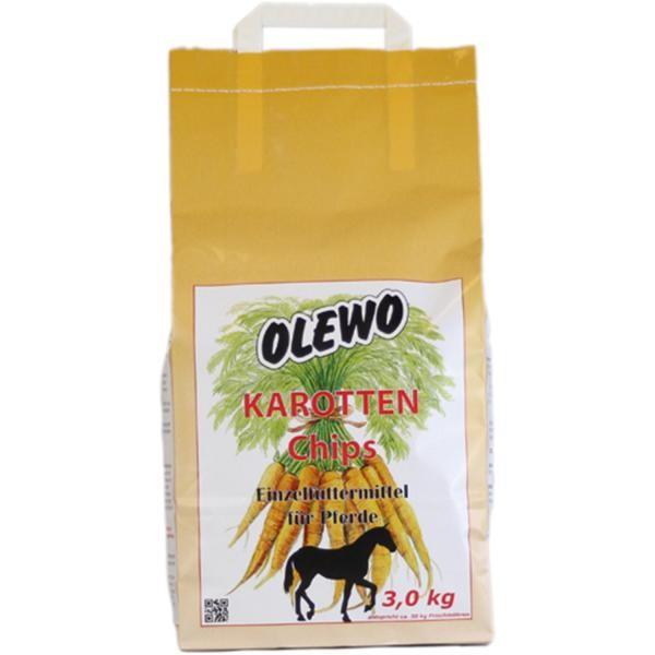 Olewo Karotten Chips- Die natürliche, energiearme Vitamin- Beilage