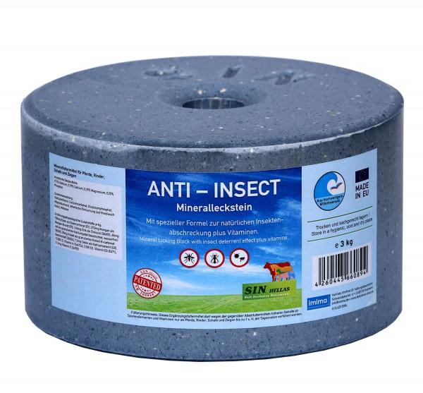 Sin Hellas ANTI-INSECT Mineralleckstein 3kg