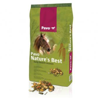 Pavo Nature's Best- naturreines Kraftfutter für Pferde 15kg