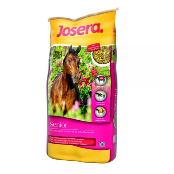 Josera Pferd Senior - Müsli-Mix für Pferde im hohen Alter 20kg