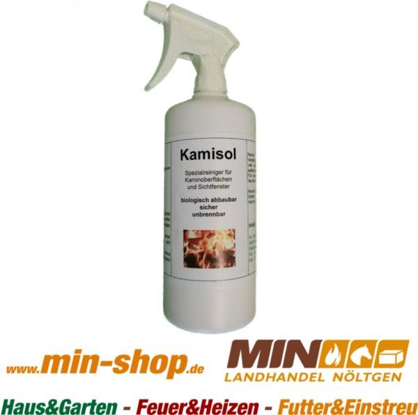 Kamisol Kaminscheibenreiniger Flasche mit Sprühkopf 1 Liter