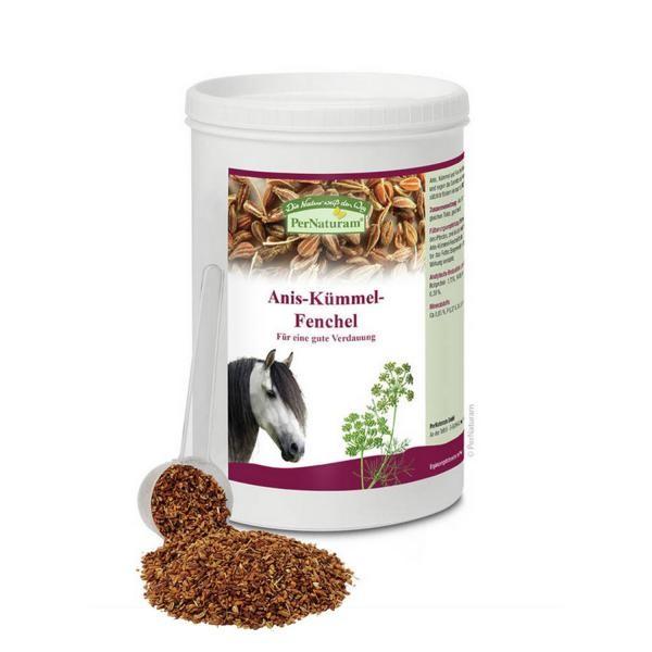PerNaturam Pferd Anis,Kümmel, Fenchel Mischung - für eine optimale Verdauung 1kg