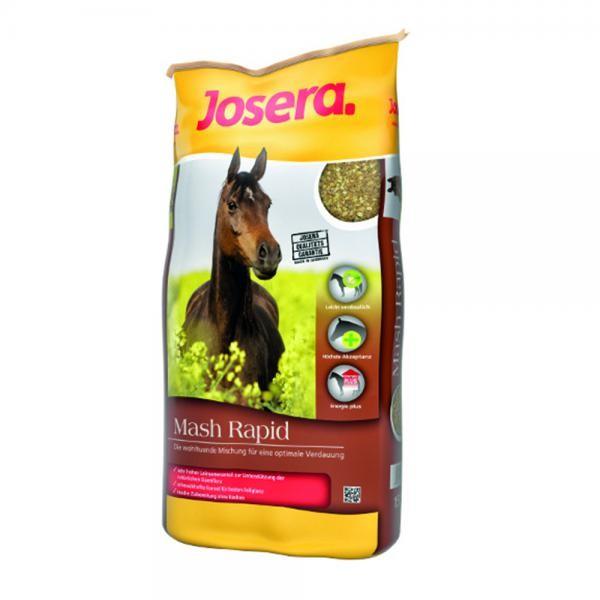 Josera Pferd Mash Rapid - wohltuendes Mash für Pferde und Ponys 15kg