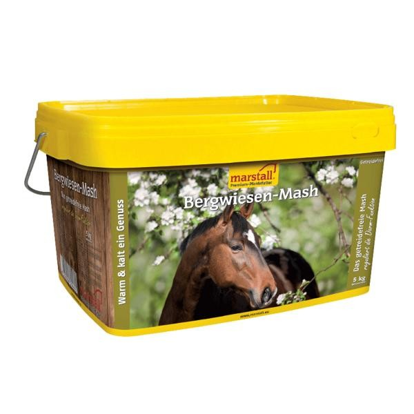 marstall Getreidefrei-Linie Bergwiesen-Mash - getreidefreies Mash für Pferde