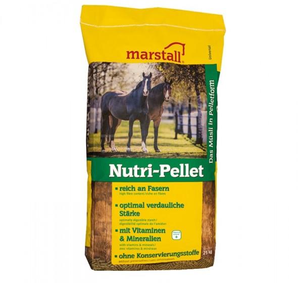 marstall Universal-Linie Nutri-Pellet 25kg - haferfreie Pellets für vollwertige Pferdefütterung