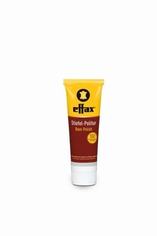 Effax Stiefel-Politur schwarz 75 ml - Pflegemittel für Lederstiefel aller Art