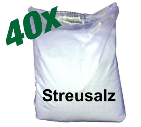 Streusalz Palette 40 Beutel à 25 kg