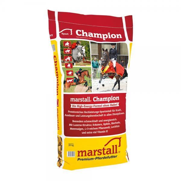 marstall Champion- haferfreies Sportmüsli für Pferde 20kg
