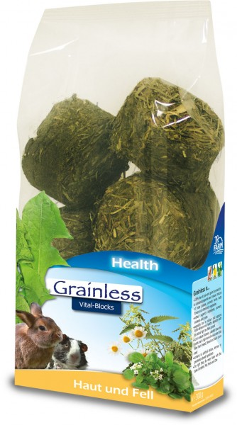 JR FARM Grainless Health Vital-Blocks Haut und Fell 300g