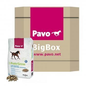 Pavo Podo Grow BigBox 725kg - Aufzuchtfutter für Jungpferde
