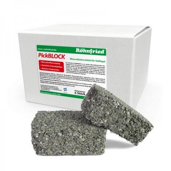 Röhnfried PickBlock 6 Steine zur Mineralstoffversorgung