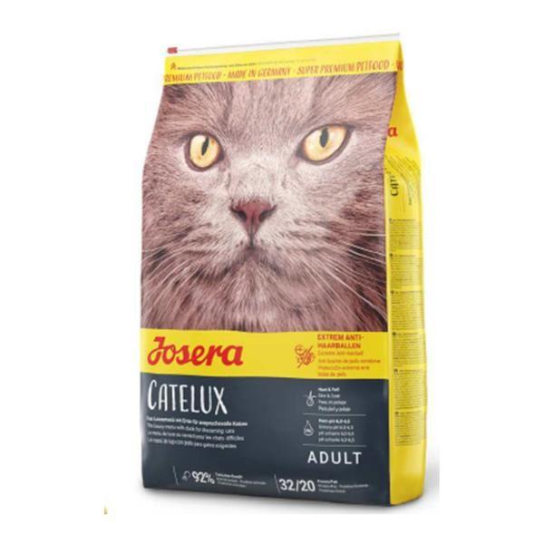 Josera Catelux - für Katzen, die zur Haarballenbildung neigen