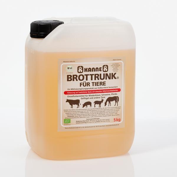 Original Kanne Bio Brottrunk® für Tiere 5l Kanister