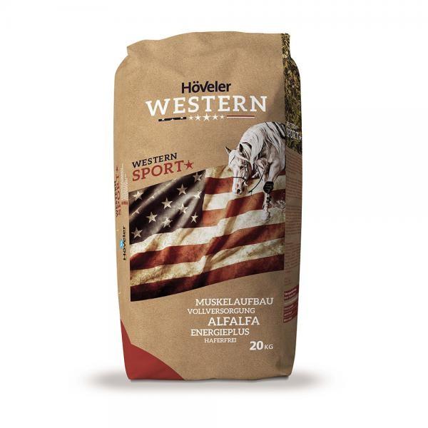 Höveler Western Sport - energiereiches, getreidearmes Müsli für Westernpferde 20 kg
