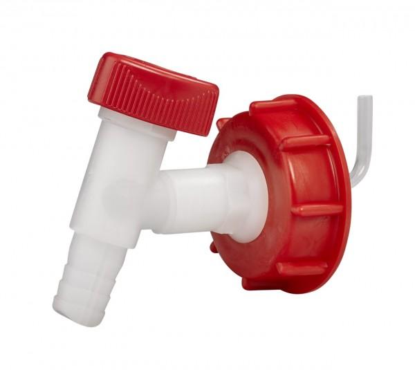 Kunststoffauslaufhahn für Einwegkanister 20+25 l