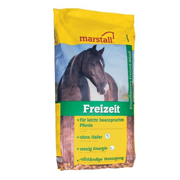 marstall Universal-Linie Freizeit - haferfreies Kraftfutter für Pferde 20kg