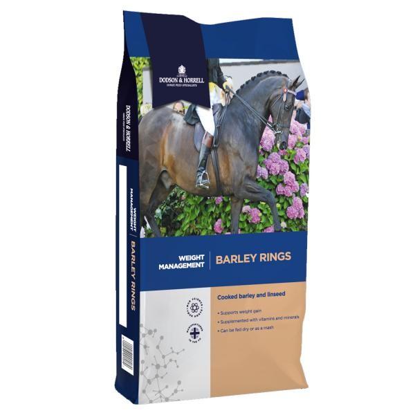 Dodson & Horrell Barley Rings- Ergänzungsfutter aus Gerste 15 kg