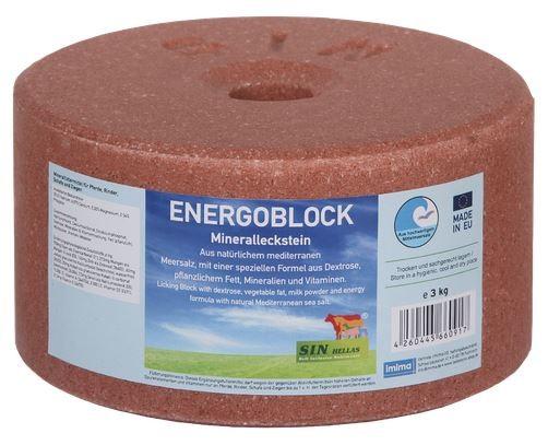 Sin Hellas ENERGOBLOCK Mineralleckstein 3kg