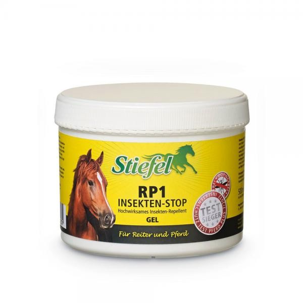 Stiefel RP1 Insekten-Stop Gel- Insektenschutz für Pferde 500ml