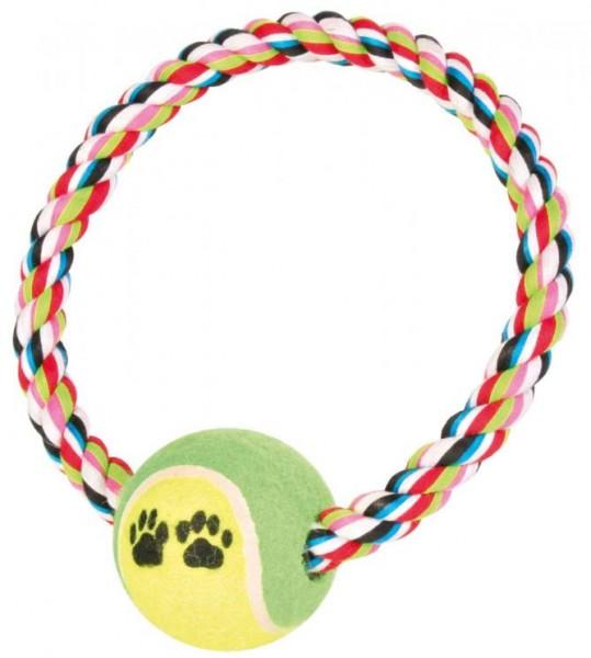 Tauring mit Tennisball, ø 6 cm/ø 18 cm