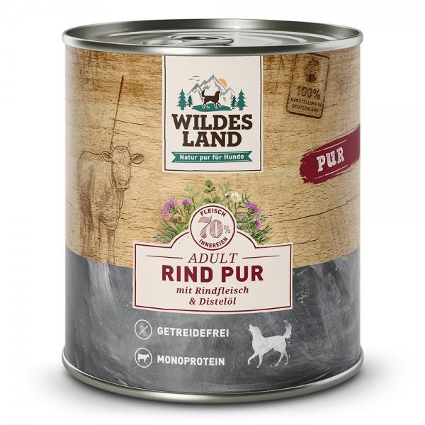 Wildes Land PUR Adult Rind mit Distelöl