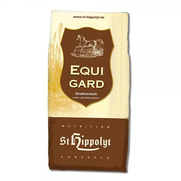 St. Hippolyt Equigard - Diätfutter für Pferde mit Stoffwechselproblemen 20kg