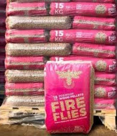 Fireflies-Woodpellets ENplus Palette