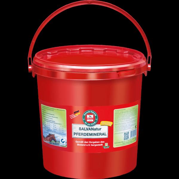 Salvana SALVANatur Pferdemineral 8kg, BIO-Mineralfutter - DE-ÖKO-005