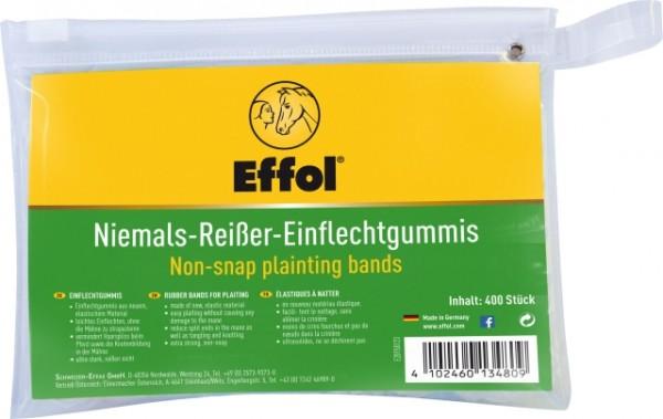 Effol Niemals-Reißer-Einflechtgummis 400 Stück - Gummibänder zum Frisieren der Mähne