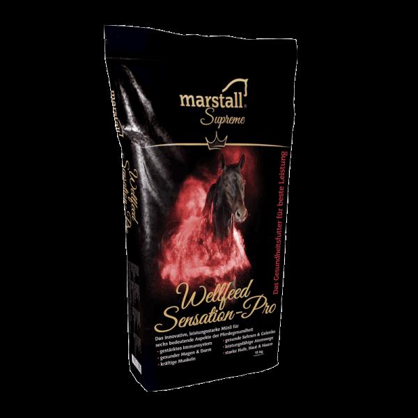 marstall Supreme-Linie Wellfeed Sensation-Pro - Müsli mit Getreide für Pferde 15kg