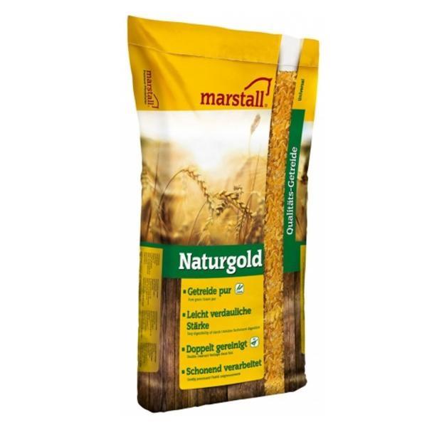 marstall Universal-Linie Naturgold Maisflocken 20kg - reines Getreidefutter für Pferde