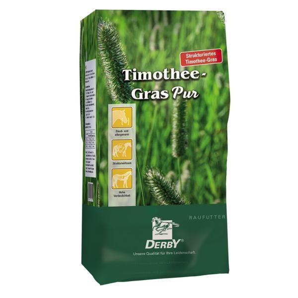 Derby Timotheegras Pur - Zur Fütterung bei Stoffwechselerkrankungen 15kg
