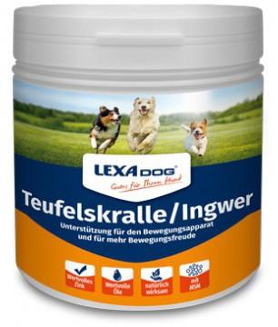 LEXA DOG® Teufelskralle Ingwer 500g Dose