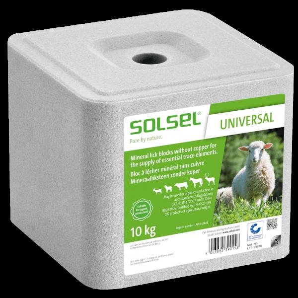 Scar Vital Universal Leckstein 10kg - mit Mineral