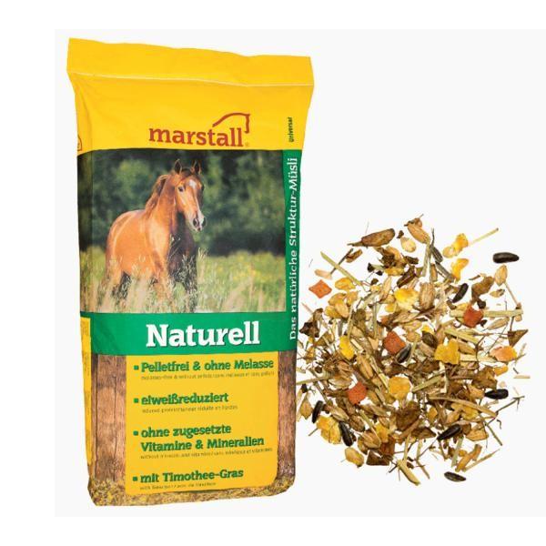 marstall Universal-Linie Naturell Pelletfrei + Struktur 15kg Sack